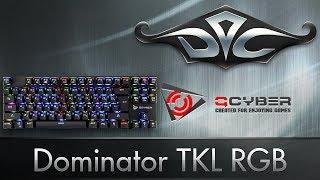 Qcyber Dominator TKL RGB. Дешевле некуда!