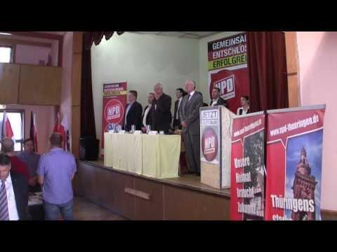 NPD THÜRINGEN / LANDESPARTEITAG 2012 (Zusammenfassung) / 12.05.2012