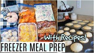 7 FREEZER MEAL DINNER PREP IDEAS AND RECIPES | DUMP AND GO CROCK POT MEALS MADE EASY