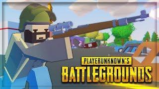 Unturned Battle Royale - PUBG in Unturned! (Unturned Mod)