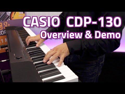Casio CDP – 130 digitális zongora