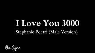 Stephanie Poetri - I Love You 3000 (Karaoke) Male Version