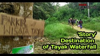 preview picture of video 'Trip to Tayak Waterfall - Chicken Barbeque beside the River'