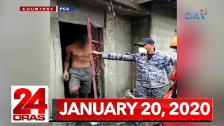 24 Oras Express: January 20, 2020 [HD]