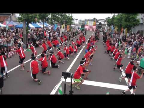 第13回しままつ鳴子まつりYOSAKOI 島松小学校 2016.8.7
