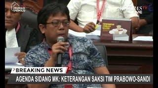 """Saksi Penasihat IT Fadli Zon Ceritakan """"Delay"""" di Situng KPU"""