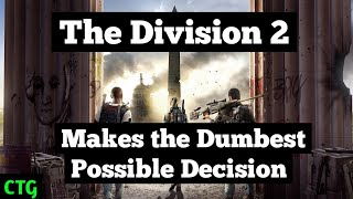 The Division 2 Removes One of Its Most Important Features on Eve of First Raid
