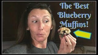 The BEST Blueberry Muffins-Like Ever!