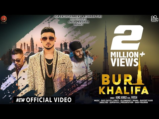 Burj Khalifa Lyrics - King Kaazi feat Fateh