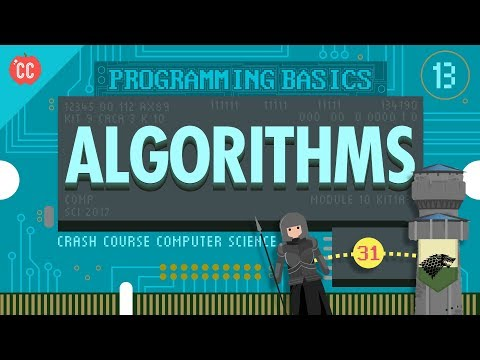 Intro to Algorithms: Crash Course Computer Science #13 - YouTube