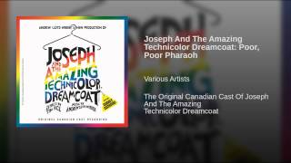 Joseph And The Amazing Technicolor Dreamcoat: Poor, Poor Pharaoh
