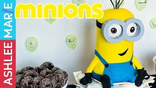 How to make a Minion cake - giant kevin crushes the castle