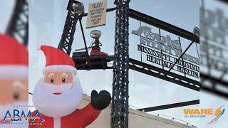 Santa's Workshop at the Soule Steam Works