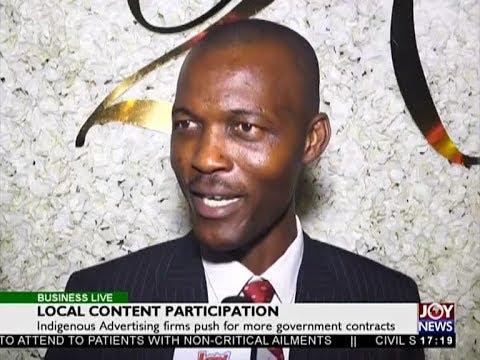 Local Content Participation - Business Live on JoyNews (12-7-18)