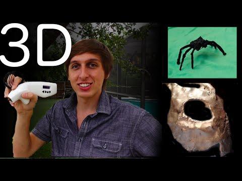 3D Pen - Plastic to metal, Girlfriend spider prank, Dry ice air-hockey. #3D Simo Mini