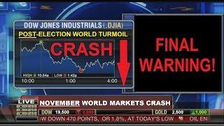 FINAL WARNING! NOVEMBER CRASH (Bo Polny)
