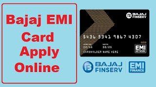 Bajaj Emi Card Online Apply - Bajaj Finserv EMI Card - How to apply bajaj emi card online | TNG