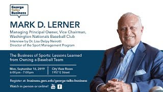 video - George Talks Business with Mark Lerner