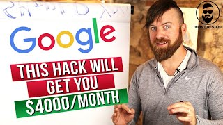 How To Make $4000 Plus Per Month From Google | UNDERGROUND METHOD