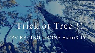 Trick or Tree !! フリースタイル !! FPV DRONE AstroX J5【 GoPro HERO7 】