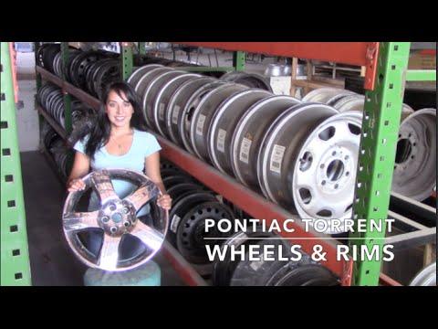 Factory Original Pontiac Torrent Rims & OEM Pontiac Torrent Wheels – OriginalWheel.com
