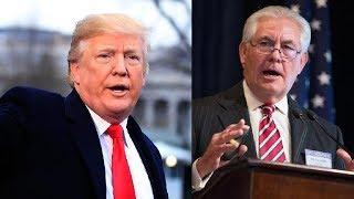 Presiden Amerika Serikat Donald Trump, Memecat Tillerson dari Jabatan Menteri Luar Negeri