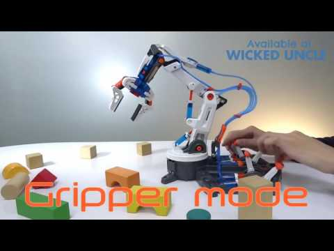 Youtube Video for Hydraulic Robot Arm - 229 Pieces