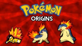 Typhlosion  - (Pokémon) - Pokemon Origins   Cyndaquil, Quilava and Typhlosion