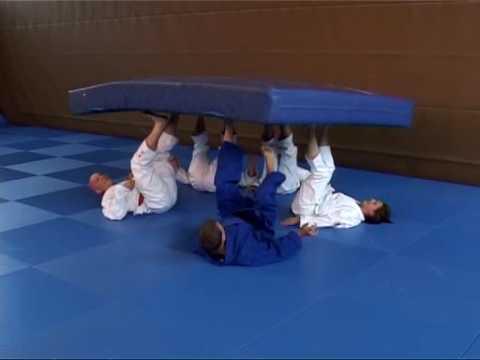 Weichbodenmatte - Koordinationsübung - Coordination exercise