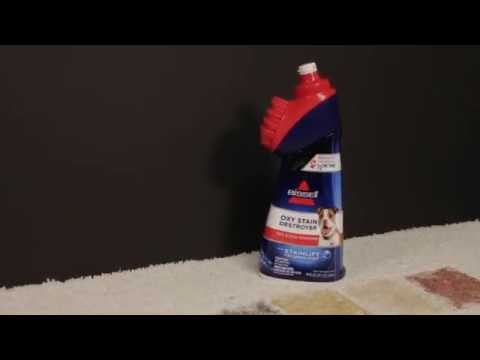 BISSELL Oxy Stain Destroyer Demonstration Video - 1766