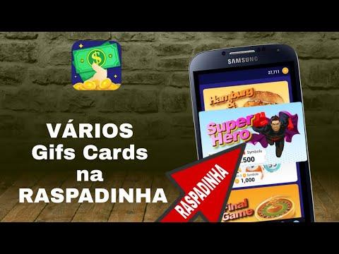 NOVO APP para GANHAR DINHEIRO no Paypal/ GIFT CARD RAPIDO 2019 na RASPADINHA