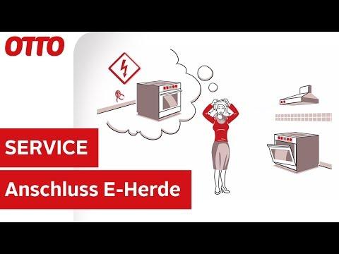 Anschluss-Service für Elektro-Standherde | Installation & Aufbau | Service bei OTTO