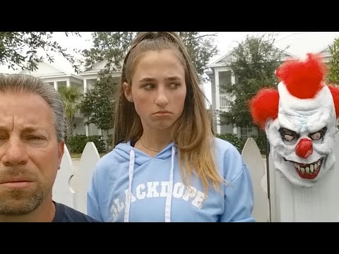 Creepy Clown Stalkers - Scary Week Coming Soon And We Are Ready