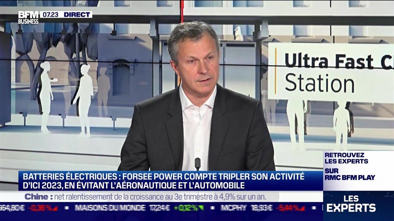 Christophe Gurtner (Forsee Power) : Forsee Power, pionner français des batteries électriques