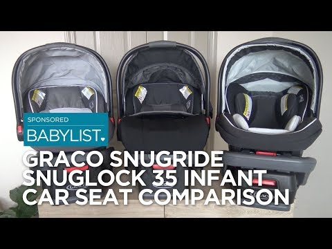 Graco SnugRide SnugLock 35 Infant Car Seat Comparison: 35 vs. 35 XT vs. 35 Elite