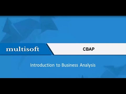 CBAP Business Analysis Training