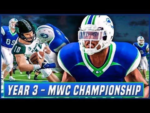 NCAA Football 14 Dynasty Year 3 - MWC Championship vs Hawaii | Ep.49