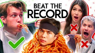 Try Not To Stop Eating | Beat Matt Stonie's 10lbs Of Pasta In 10 min Record