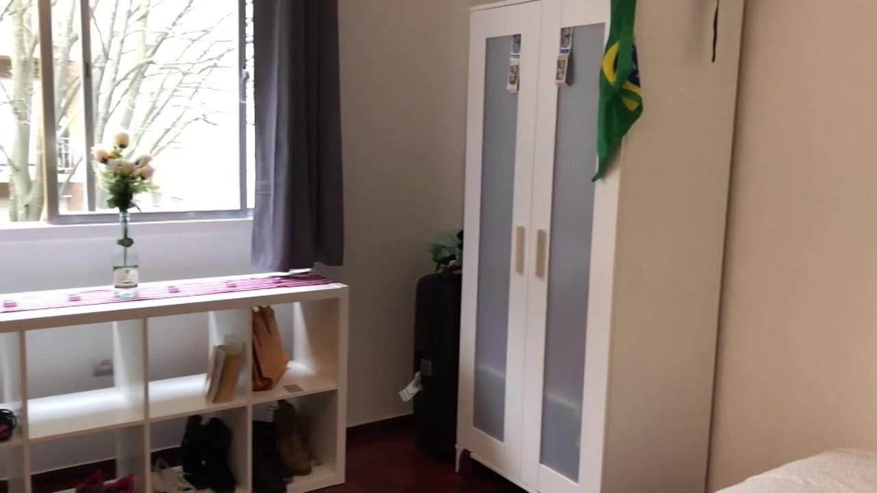 Double bed in Rooms in 9-bedroom apartment to rent  in Avenidas Novas