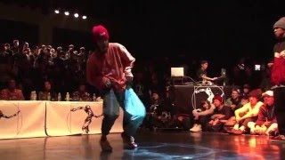 Lil'K vs YASS+Yusei【JUSTE DEBOUT JAPAN 2016】HIPHOP BEST8