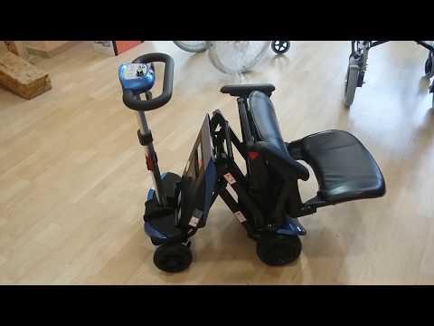 Mundo Fácil   Scooter plegable Transformer con mando a distancia