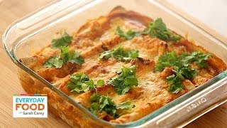 Lighter Chicken Enchilada - Everyday Food With Sarah Carey