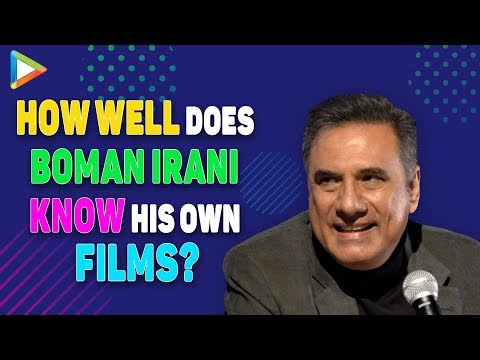 Boman Irani's SUPER-FUN Quiz – How Well Does Boman Know His Own Films? | Houseful | Veer-Zaara