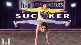 SUCKER   Jonas Brothers Dance   Matt Steffanina & Sofie Dossi