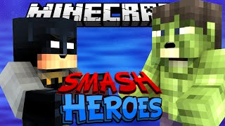 БИТВА СУПЕРГЕРОЕВ - Minecraft Smash Heroes (Mini-Game)