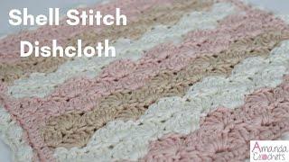 Shell Stitch Dishcloth (Dishcloth Series)