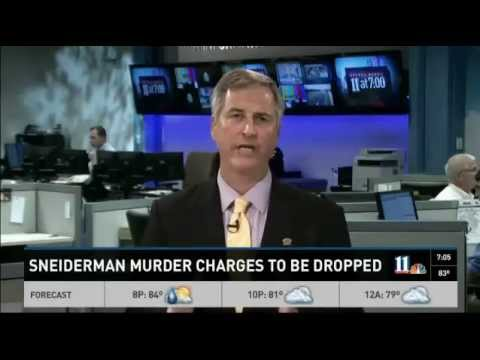 11-Alive News announces Andrea Sneiderman murder charges dropped.