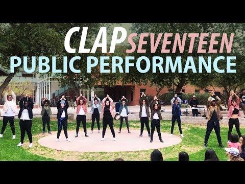 [under_skore] Dancing Kpop in Public Seventeen - 박수 (Clap)