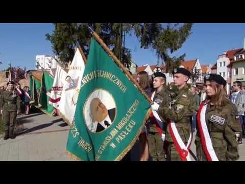 Odsłonięcie pomnika z okazji 100-lecia odzyskania przez Polskę niepodległości