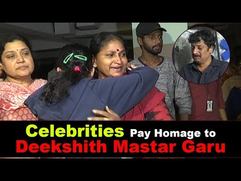 celebrities-pay-homage-to-deekshith-mastar-garu